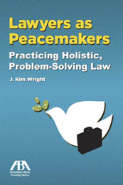 Book cover of Lawyers as Peacemakers