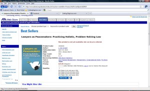 2010-04-21 screen shot of Kim's best seller on ABA