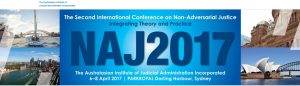 Image for the Second International Conference on Adversarial Justice