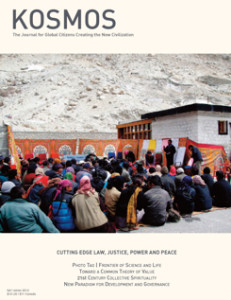 cover of Kosmos Journal on Cutting Edge Justice, Power, and Peace