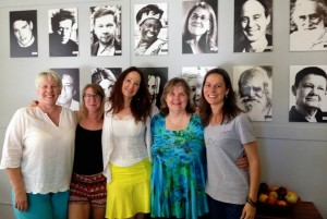 photo of 5 women at Omega divorce weekend