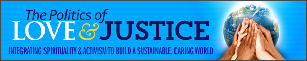 politics of love and justice logo